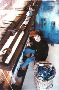 Handgeweven wandtapijten/ Hand woven tapestry